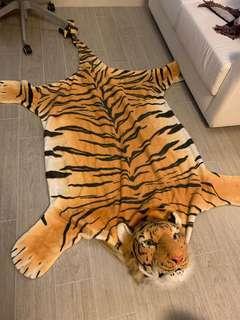 老虎地氈 tiger carpet