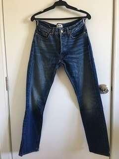 Acne Studios Denim Jeans (Authentic) - repriced