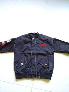 🚚 Windbreaker Jacket in black