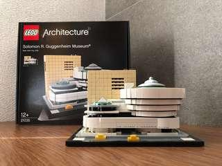 Lego Architecture - Solomon Guggenheim Museum USED
