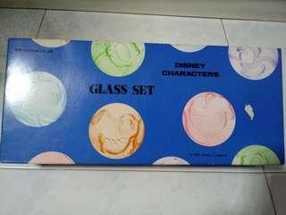 New Disney Characters Glass Set