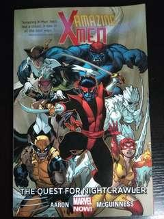 Amazing Xmen The quest for nightcrawler