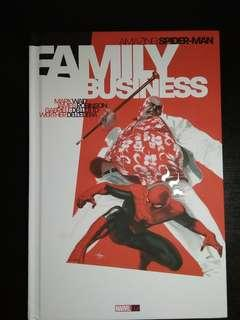 Amazing Spiderman Family Business Hard cover