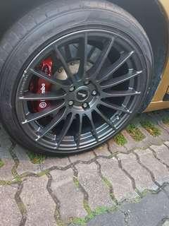 Brand New Enkei RS05RR Look Alike MST Racing Rims / Wheels