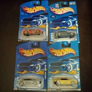 全新 100% new Hotwheels 法拉利 Ferrari 绝版一套四架