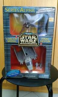 Star Wars MicroMachine Action Fleer. Series alpha Imperial Shuttle.