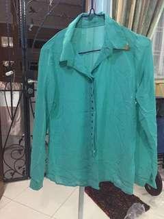 🚚 Collared mintgreen shirt