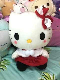 Brand New Hello Kitty Plush Toy Xmas