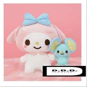 SEGA Yurukawa Sanrio My Melody and flat-kun mega jumbo together stuffed plush