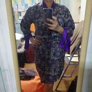 Office blouse & skirt L