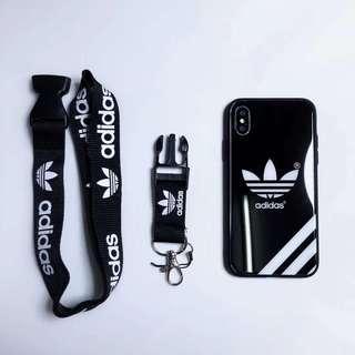 🚚 Adidas phone case with lanyard