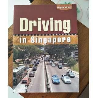 Used Grab Driving book Driving in Singapore Guide by Mighty Minds uber gojet