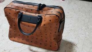 Authentic MCM Work Bag