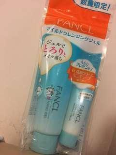 日本限定Fancl無添加 卸妝啫喱120g+洗面奶20g