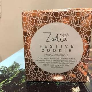 Zoella Lifestyle Festive Cookie Candle