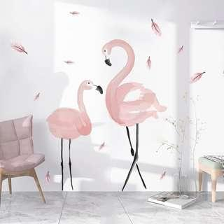 INS Flamingo Wall Sticker