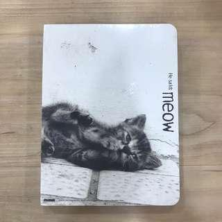 Cat print notebook