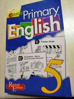Primary 5 assessment English book