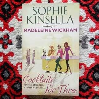 Cocktails for Three by Sophie Kinsella (Chick Flicks)