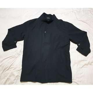 NEW Mens' Black 2-Layered Jacket