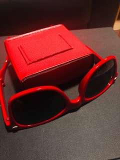 Tomato Red Sunglasses
