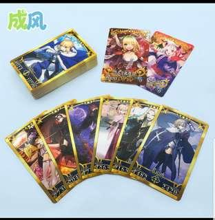 Fate Grand Order (FGO) cards (Chinese version)