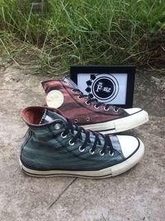 💎Converse by Missoni Chuck Taylor High Top Washed Canvas Crab Apple 149548C💎