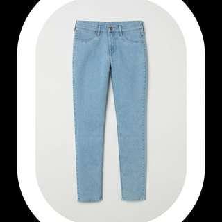 H&M skinny jeans blue