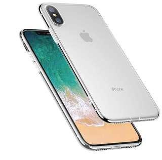 iPhone Slim Transparent Case 7/7Plus/8/8 Plus/X/XR/XS/XS MAX