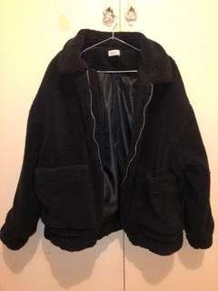 Teddy Jacket Black S/M