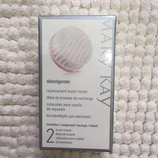 Mary Kay Skinvigorate Cleansing Facial Brush Refill Replacement Brush Heads