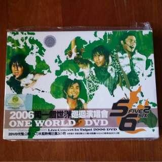 Used Wholelot 5566 Taiwan Boy Band music concert CD , VCD & DVD collection dance chinese pop boy group