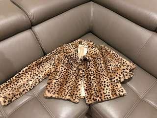 Real Rabbit fur - leopard 🐆