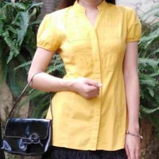 Chinese Style Mustard Yellow