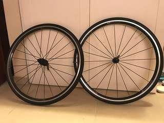 Vision Team 25 rims with tires