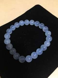 藍玉髓 水晶 10mm 包郵