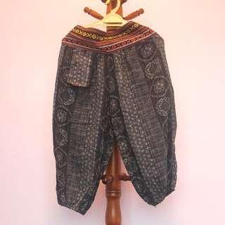 Tribal Print Aladdin Pants
