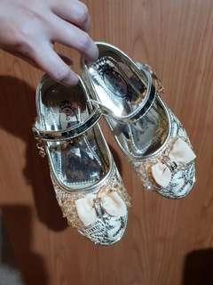 Girls glam party shoes