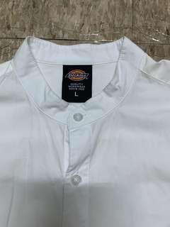 Dickies white shirt size L