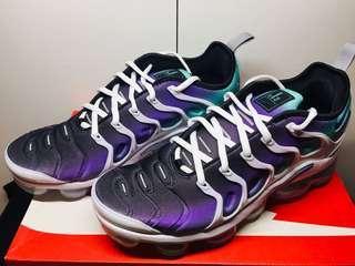 全新 Nike Air Vapormax Plus (白紫特別色)