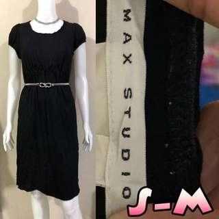 Max Studio Black Dress