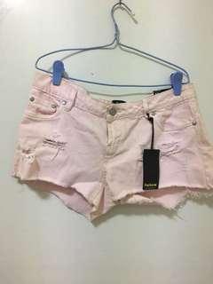 Factorie Denim Pink Shorts