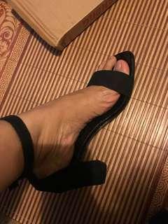 strap ankle heels