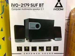 iVOOMi iVO-2179 SUF BT Computer Multimedia Speaker 2.1