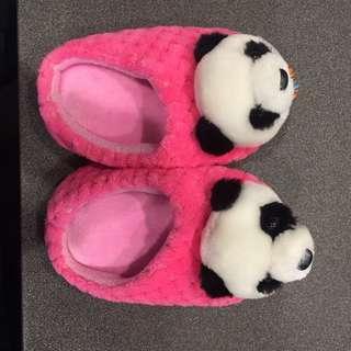 貓熊室內鞋 14cm