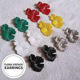 Flora Vintage Earrings