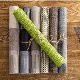 [IN-STOCK]Weave Coaster Table Mat (LW129)