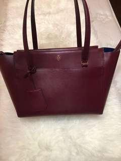 Tory burch preloved (maroon)