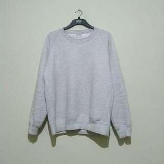 UNIQLO Sweater Basic Grey Original