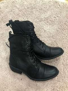 THERAPY LACE UP BOOTS SHOES